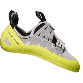 La Sportiva W's Geckogym Climbing Shoes Grey/Apple Green